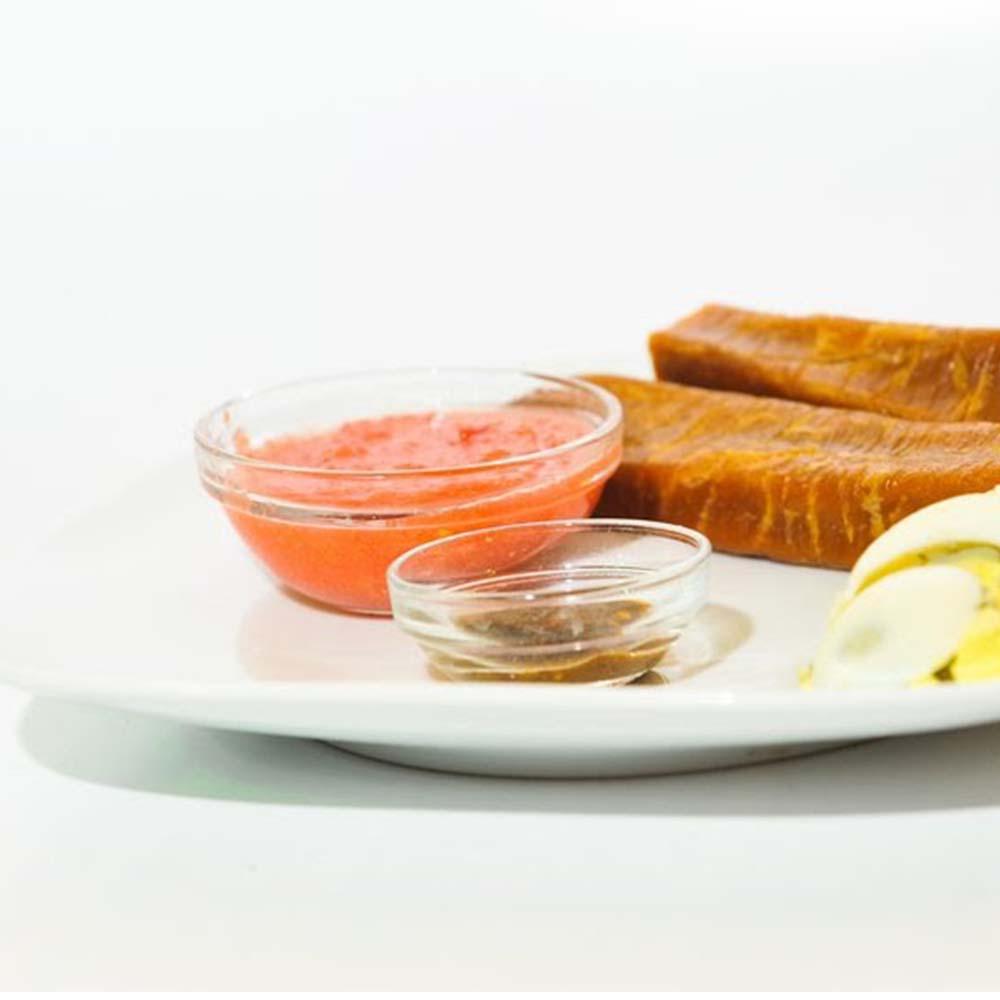 ג'חנון עם רסק, ביצה וחריף